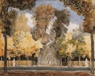 Версальский парк осенью — Константин Сомов