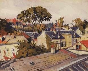 Версаль. Крыши города — Зинаида Серебрякова