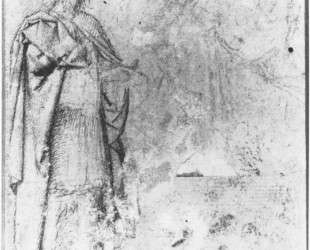 Verso of the first Sketch King Cambyses — Герард Давид
