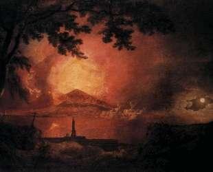 Vesuvius in Eruption — Джозеф Райт