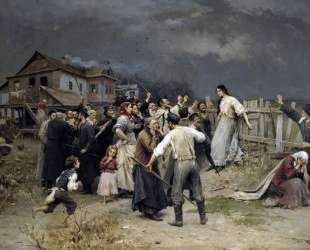 Victime of fanatisme — Николай Пимоненко