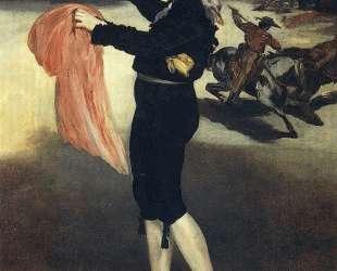 Victorine Meurent in the costume of an Espada — Эдуард Мане