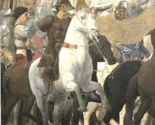 Победа Константина в битве у Мильвийского моста — Пьеро делла Франческа