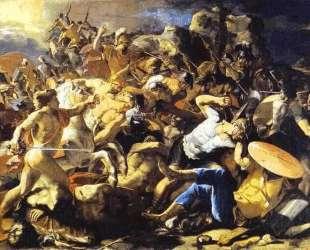 Победа Иисуса Навина над Аморитами — Николя Пуссен