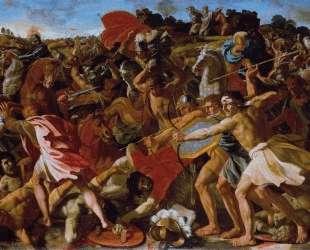 Победа Иисуса Навина над Амалекитами — Николя Пуссен