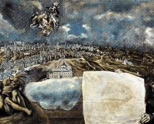 Вид и план Толедо — Эль Греко