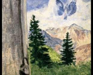 Вид на Пьера-Кава — Марк Шагал