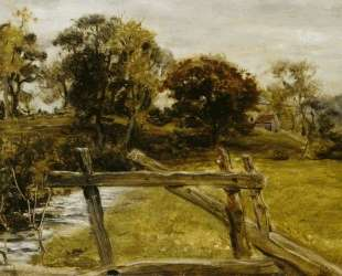 View Near Hampstead — Джон Эверетт Милле