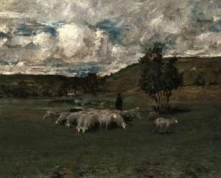 View near Polling — Уильям Меррит Чейз