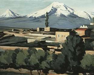 View of Ararat from Yerevan — Мартирос Сарьян