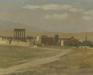 View of Baalbek — Жан-Леон Жером