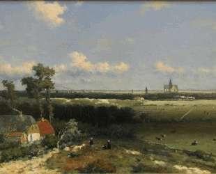 View of Haarlem — Иохан Хендрик Вейсенбрух