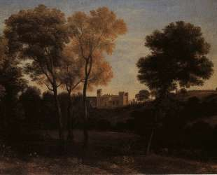 View of La Crescenza — Клод Лоррен