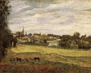 View of Marly le Roi — Камиль Писсарро