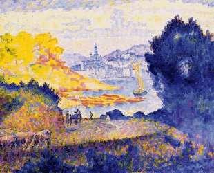 View of Menton — Анри Эдмон Кросс
