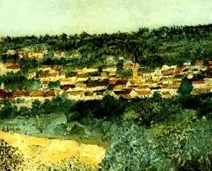 View of Montmagny — Морис Утрилло