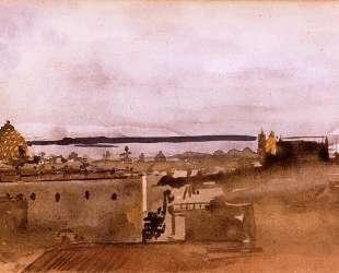 Вид Неаполя — Эдгар Дега