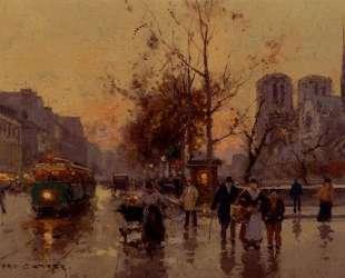 View of Notre Dame — Эдуард Кортес