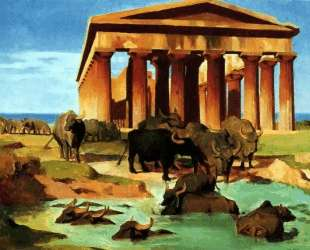 View of Paestum — Жан-Леон Жером