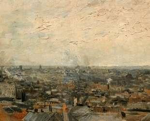 View of Paris from Montmartre — Винсент Ван Гог