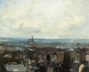 View of Paris from near Montmartre — Винсент Ван Гог