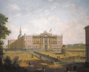 View of Saint Michael's Castle — Фёдор Алексеев