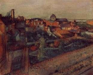Вид на Сен-Валери-сюр-Сом — Эдгар Дега