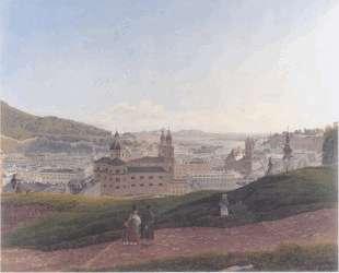 View of Salzburg — Рудольф фон Альт