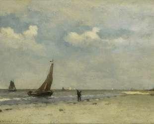 View of Seaside — Иохан Хендрик Вейсенбрух