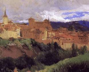 View of Segovia — Хоакин Соролья