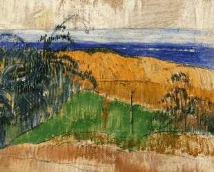 Вид на побережье Беланжене — Поль Гоген