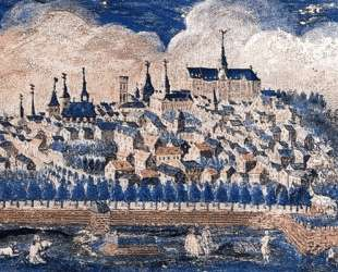 View of the City Saint-Quentin — Морис Кантен де Латур