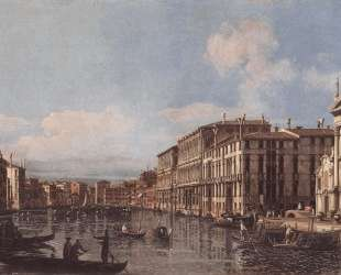 View of the Grand Canal at San Stae — Бернардо Беллотто