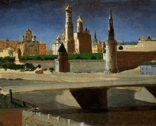 Москва. Вид на Кремль со стороны Замоскворечья — Архип Куинджи