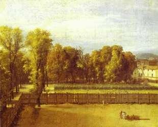 Вид на Люксембургский сад в Париже — Жак Луи Давид