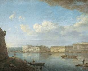 View of the Palace Embankment from St. Peter's and St. Paul's Fortress — Фёдор Алексеев