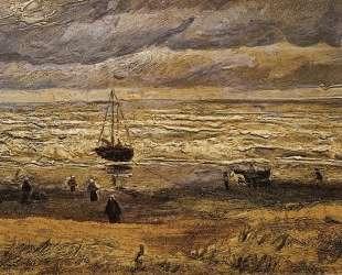 View of the Sea at Scheveningen — Винсент Ван Гог