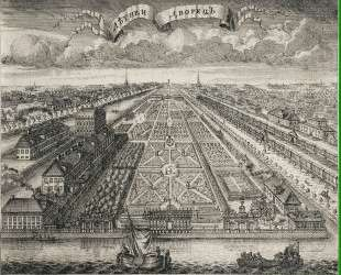 View of the Summer Gardens from the Neva River — Алексей Зубов