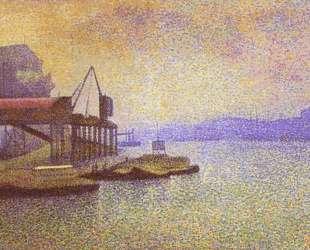 View of the Thames — Жорж Леммен