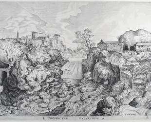 Вид на Тиволи — Питер Брейгель Старший