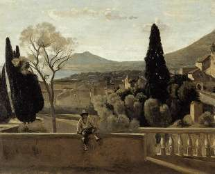 View of Tivoli (after Corot) — Берта Моризо
