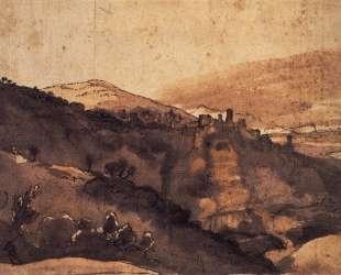 View of Tivoli — Клод Лоррен