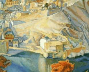 View of Toledo — Диего Ривера