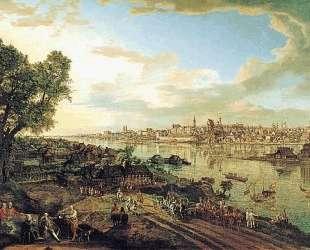 View of Warsaw from Praga — Бернардо Беллотто