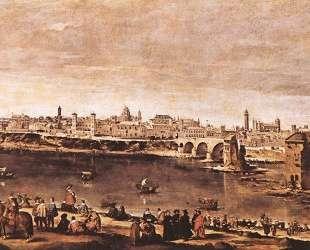 View of Zaragoza — Диего Веласкес