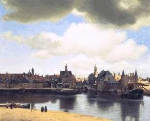 View on Delft — Ян Вермеер