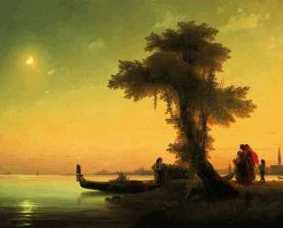 Вид на Венецианскую лагуну — Иван Айвазовский