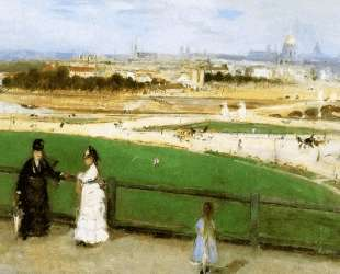 View on Paris Sun — Берта Моризо