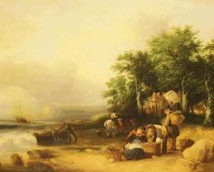View On The Isle Of Wight — Уильям Шайер