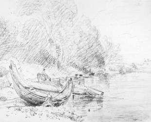 Вид на реку Северн в Вустере — Джон Констебл